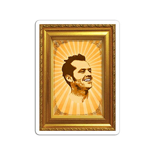 Sticker Television Show Jack Nicholson in Pop Art Style Tv Shows Series (3' x 4', 3 PCS/Pack)
