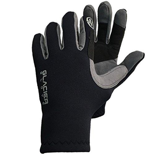 Glacier Handschuh Guide Neopren Handschuhe, Unisex-Erwachsene, schwarz, X-Large