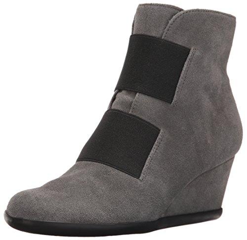 Aerosoles Women's Get Fit Boot, Grey Suede, 5.5 M US
