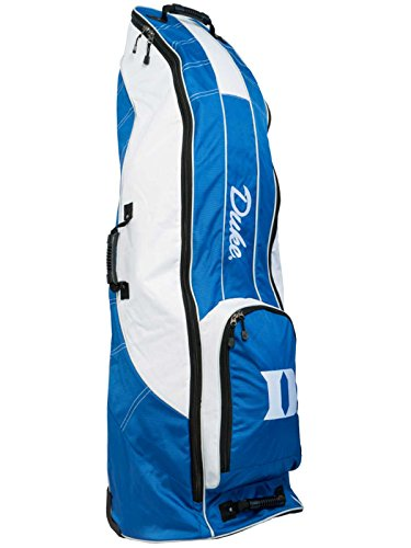 Read About Team Golf Duke Blue Devils Blue Golf Clubs Wheeled Luggage Travel Bag