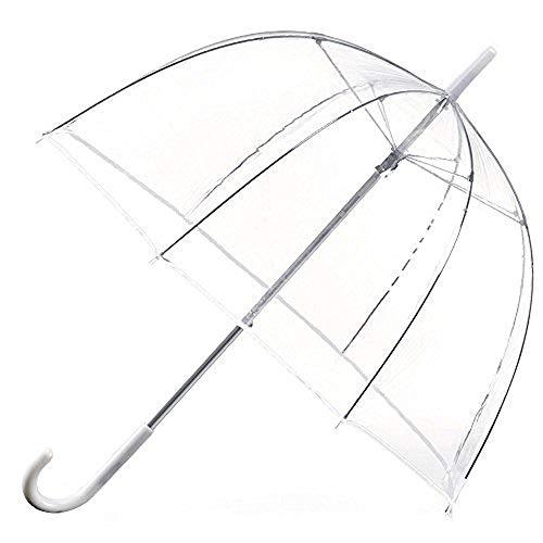 Allright Ø80 cm paraplu, transparant, bruiloft, doorzichtige paraplu, paraplu, diameter 80 cm