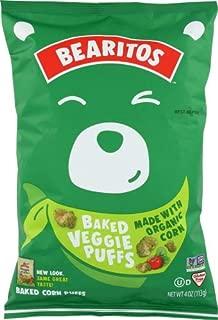 Bearitos Baked Veggie Puffs 4 OZ (Pack of 12)