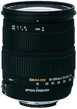 Sigma AF 18-200mm f/3.5-6.3 DC OS (Optical Stabilizer) Zoom Lens for Nikon Digital SLR Cameras