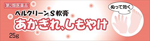 【第2類医薬品】ベルクリーンS軟膏 25g