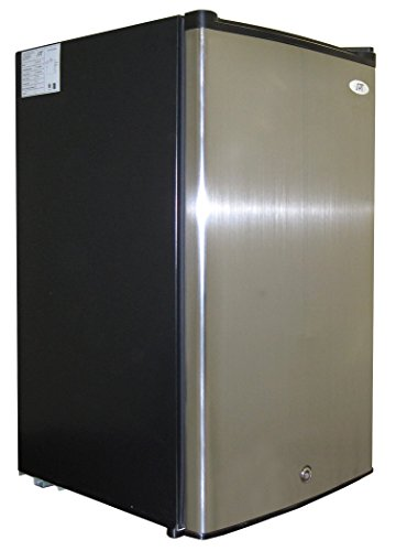 Sunpentown UF-304SS 3.0 cu.ft. Upright Freezer with Energy Star-Stainless Steel, Cubic feet