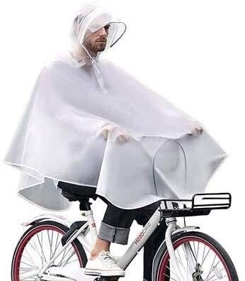 Shade Cloth Poncho Waterproof Adult Plastic Poncho, Outdoor Waterproof Thickening, Windproof And Breathable Riding Poncho, Fashionable Bicycle Raincoat, Suitable for Men And Women Poncho SLZFLSSHPK