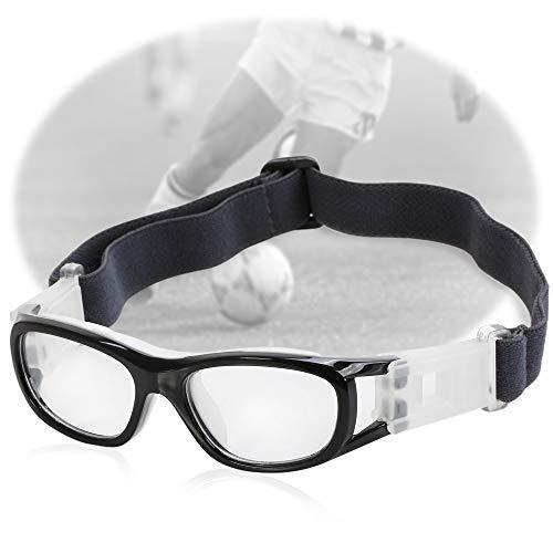 Duzhixi Kinder Basketball Fußball Sportbrillen Brillen PC Objektiv Schutzbrille (Color : Schwarz)