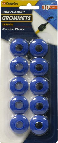 CargoLoc 82473 10 Pc. Grommets - Snap On, Plastic