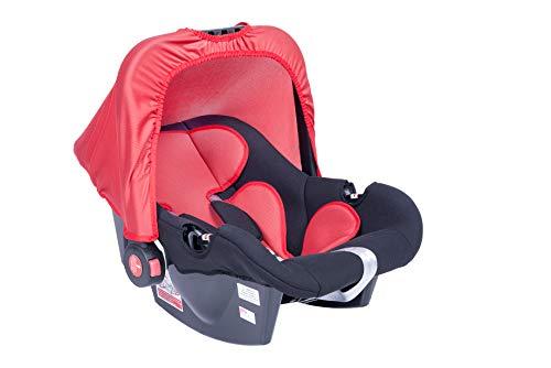 Bebê Conforto DRC G0+, Styll Baby, Preto/Vermelho, Até 13 kg