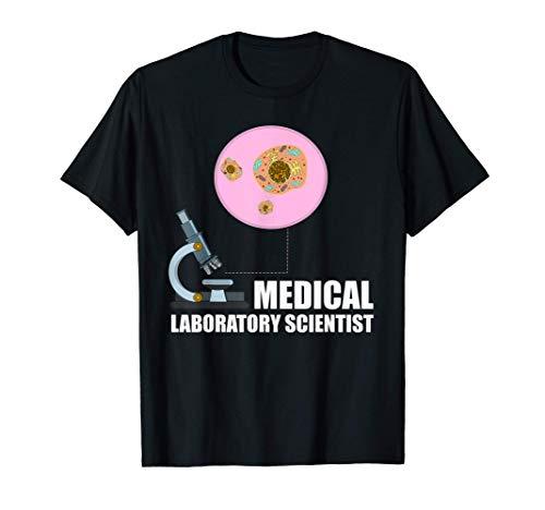 Lab Technician Microscope Medical Laboratory Scientist T-Shirt