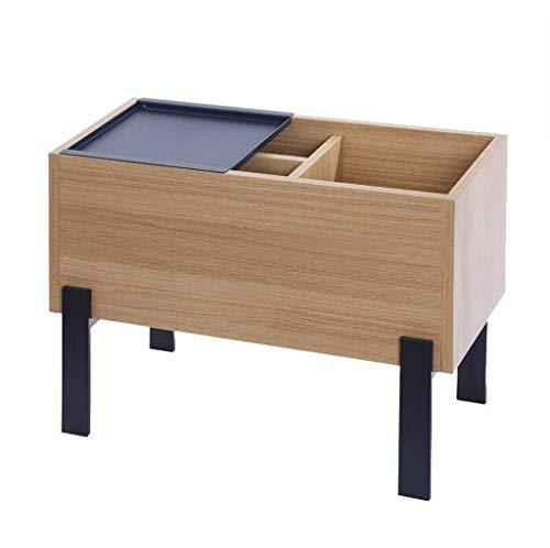 HYY-YY Mesa de centro simple sofá sofá armario creativo almacenamiento mesita de noche...