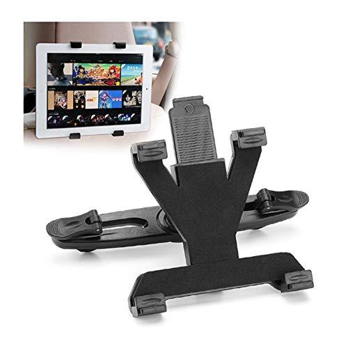 GNXTNX Soporte Tableta Multifuncional, Reposacabezas Automóvil, Asiento Trasero Universal para Tabletas, Teléfonos Inteligentes, Consolas de Juegos,Adapta a Todas Tabletas de 7 a 10 Pulgadas (Negro)