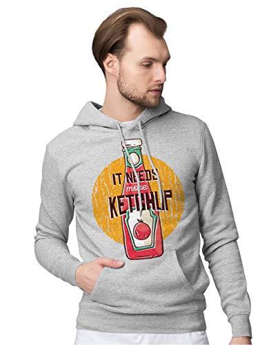 BLAK TEE Herren More Tomatoes and More Ketchup Kapuzenpullover XXL