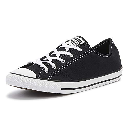 Converse Damen Chuck Taylor All Star Sneaker, Schwarz, 39 EU