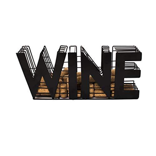 JHY DESIGN Wine Cork holder-13.5' Length Metal Craft Wine Cork Storage