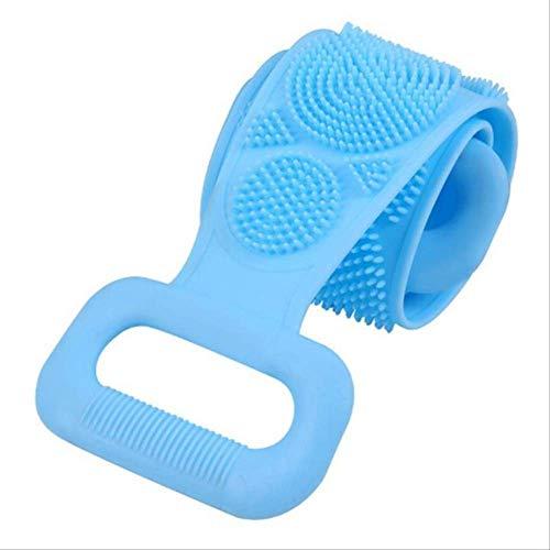 Brosse En Silicone Serviette De Bain Essuyer Le Dos Boue Peeling Body Shower Magic Brush Flexible Scrubber Nettoyage De Salle De Bain Taille Unique G