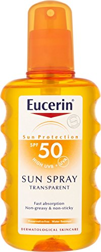 EUCERIN SOLAR SPRAY TRANSPAR. 50+ 200ML
