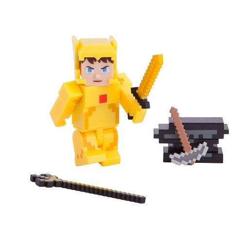 Terraria Gold Armor Player Toy with Accessories