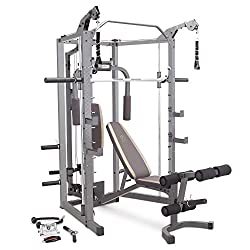 commercial Marcy Combo with bench and barbell for home gym SM-4008 marcy home gym