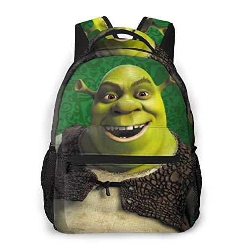 Hengtaichang Sh-Rek Laptop Backpack for Women Casual Travel Daypack Bookbag Light Weighted Travel Bag Shoulder Bag,Black,One Size
