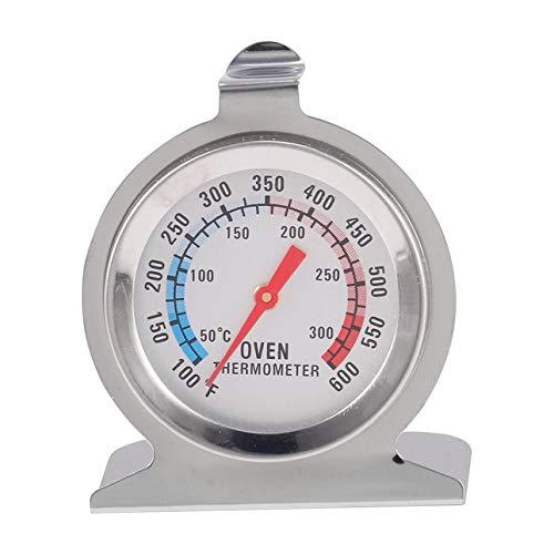 Ba30DEllylelly Termómetro de horno de dial de pie clásico de temperatura de carne de acero inoxidable termómetro de cocina de calibre calibre