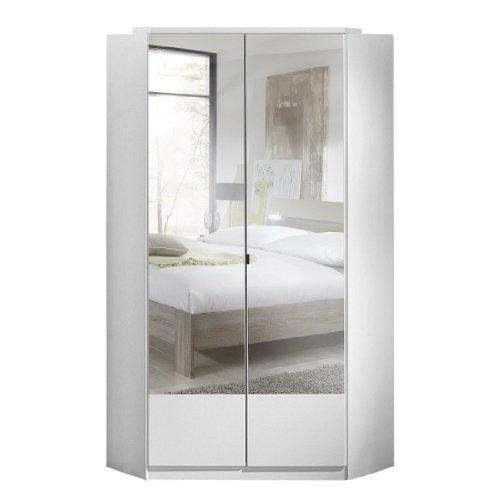 Wimex Kleiderschrank/ Eckschrank Imago, 2 Türen, (B/H/T) 95 x 198 x 95 cm, Weiß