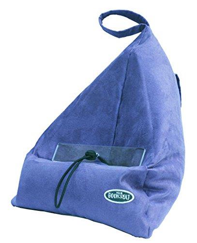 Book Seat 9346017000024 Lesesack/Buchstütze/Buchkissen/Tablet PC halter/Reisekissen mit Tasche, blau