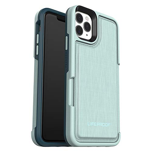 LifeProof FLIP SERIES Wallet Case for iPhone 11 Pro Max - WATER LILY (SURF SPRAY/DARK JADE)