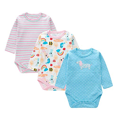 Mini eggs Blue Baby Onesies Reindeer Bodysuit White Shirt Should and Button Snap