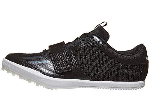adidas Jumpstar Spike Shoe Herren Leichtathletikschuh, Schwarz (Core Schwarz-Weiß), 41 EU