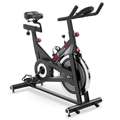 CIRCUIT FITNESS Circuito Fitness Club Revolución Ciclo para Ejercicio Cardio - Rojo/Bluetooth