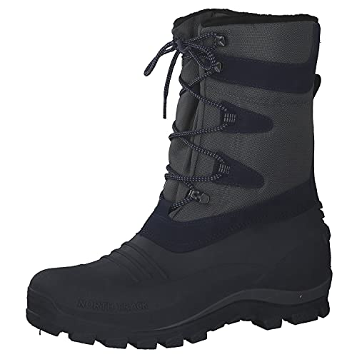 CMP Unisex NIETOS Snow Boots, Grey-Navy, 47 EU