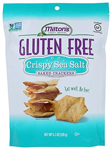 Milton's Craft Bakers Baked Crackers, Sea Salt, 4.5 oz