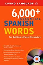 6,000+ Essential Spanish Words with CD-ROM (Essential Vocabulary)