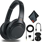 Sony WH-1000XM3 Wireless Noise-Canceling Over-Ear Headphones (Black) with...
