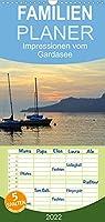 Impressionen vom Gardasee - Familienplaner hoch (Wandkalender 2022 , 21 cm x 45 cm, hoch): Impressionen rund um den Gardasee (Monatskalender, 14 Seiten )