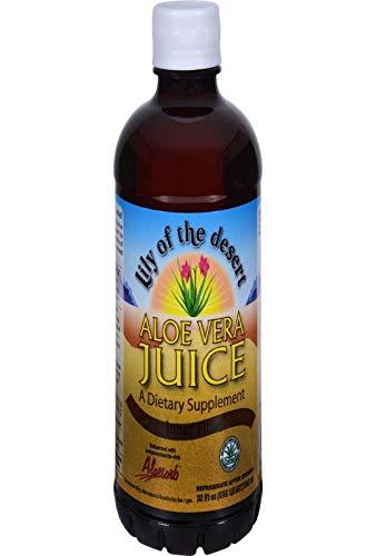 Lily of the desert - Jus d' aloé vera bio - 946 ml jus - Rééquilibrant et protecteur du système dig