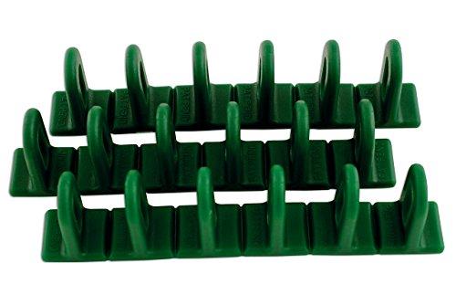LASER TOOLS Power-Tec 92350 Multipads, Taille : 6/22, Vert, Lot de 3