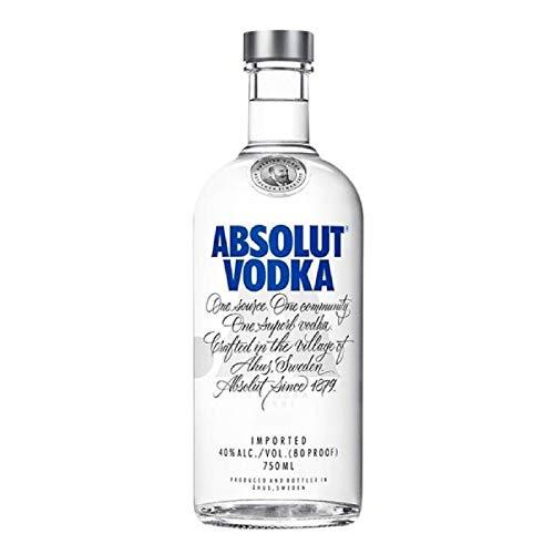 Absolut Vodka Original Elaborado Con Ingredientes Naturales, Sin...