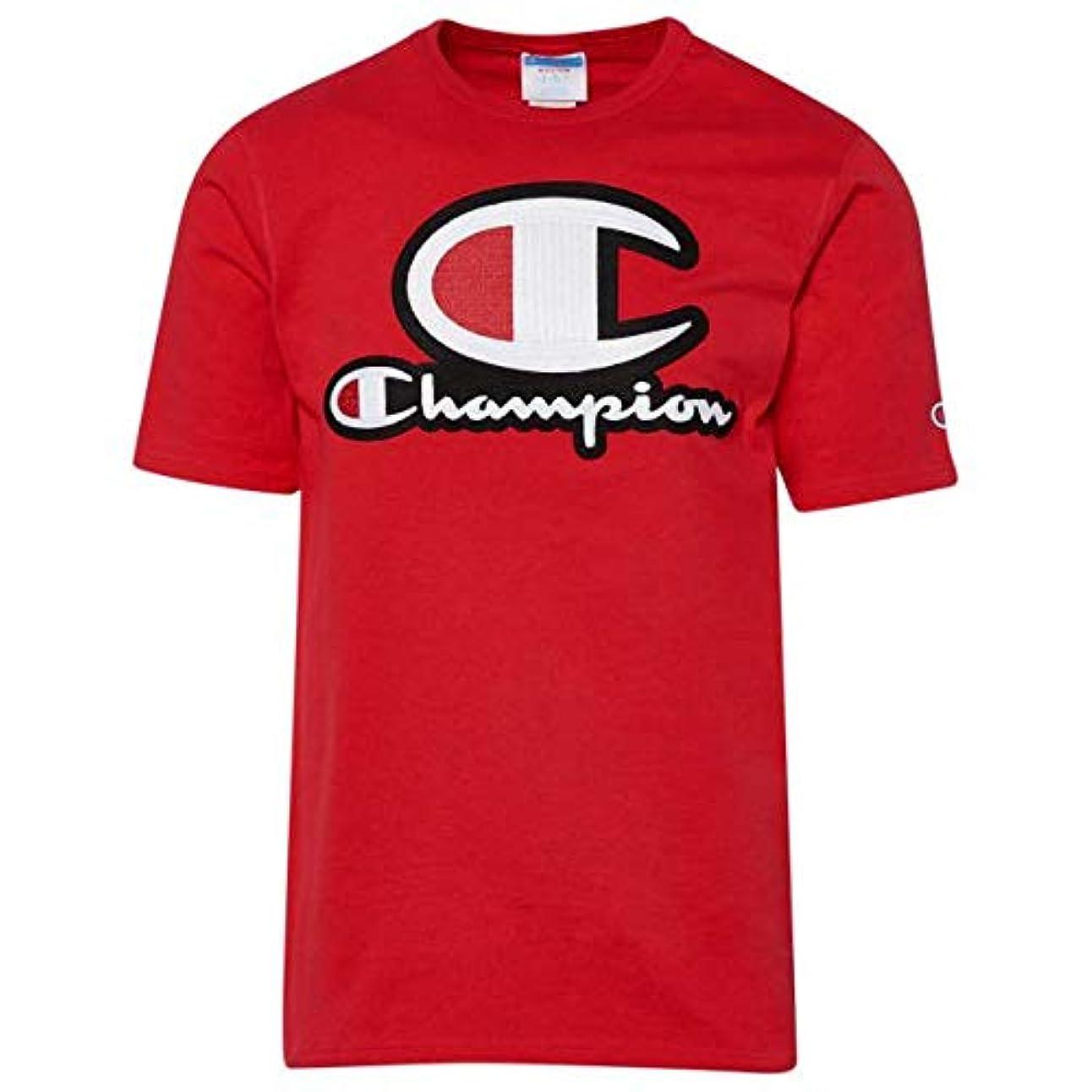会社調整送る(チャンピオン)Champion Stacked C-Logo T-Shirt メンズ Tシャツ [並行輸入品]