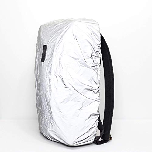 Capra Reflective Backpack Cover, City Rucksack, Cycling Commuter Bag, Biking Night Protection Accessory, Light Reflective Fabric. Men Gift