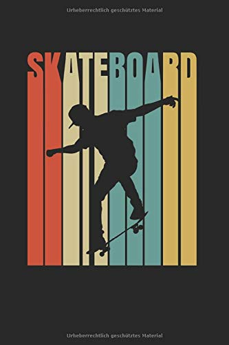 Skateboard | Schlittschuh Trainings Notizen: Notizbuch A5 120 Seiten liniert