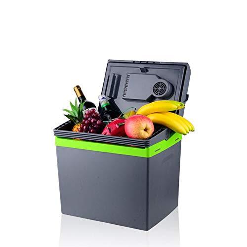 WDFDZSW Coche de refrigerador, de Doble propósito Nevera, Mini portátil Compacto Personal Frigorífico Cools y se calienta, Incluye enchufes for Outlet y 12V Cargador de Coche
