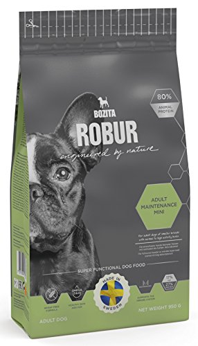 Bozita Hundefutter Robur Maintenance Mini 27/17, 1er Pack (1 x 950 g)