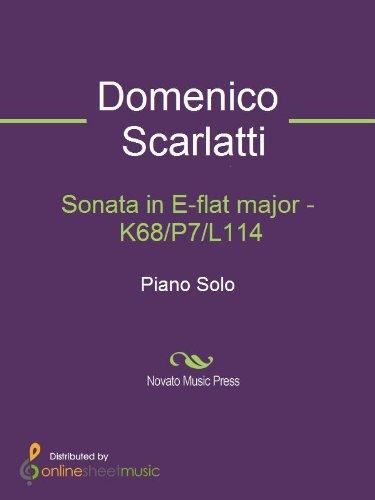 Sonata in E-flat major - K68/P7/L114 (English Edition)