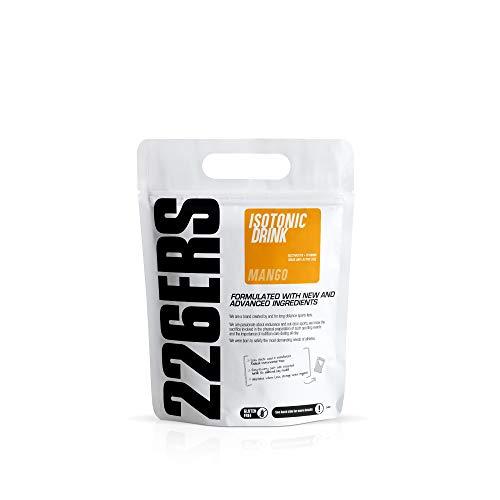226ERS Isotonic Drink | Bedida Isotónica Sin Gluten, Hidratación y Recarga de Sales Minerales con Vitaminas, Minerales y Beta-Alanina, Mango - 500 gr