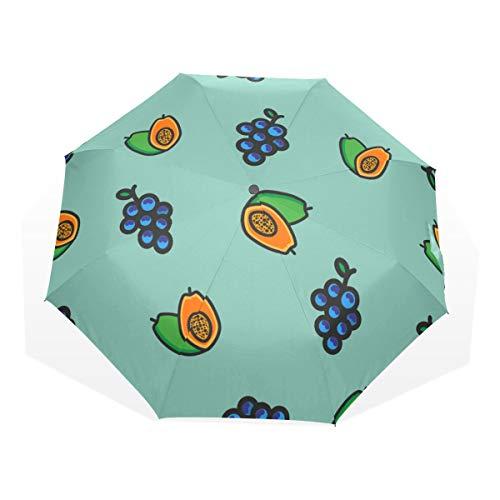 Umbrella Raining Men Retro Happy Romantic Gift Flowers 3 Fold Art Umbrellas(outside Printing) Bike Rain Umbrella Best Folding Umbrella Compact Folding Umbrella