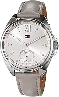 Tommy Hilfiger Womens Multi dial Quartz Watch with Leather Strap 1781990