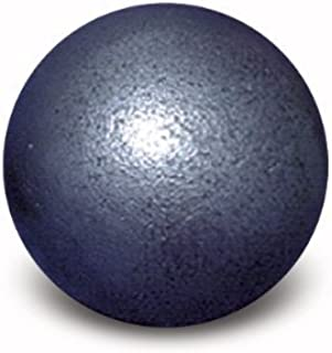 12 lb 114 mm Diameter Boy's High School Competition Iron Shot Put for Track & Field. Perfect for Competition or Practice. Premium Quality That Will Last for Years. One Year Warranty.