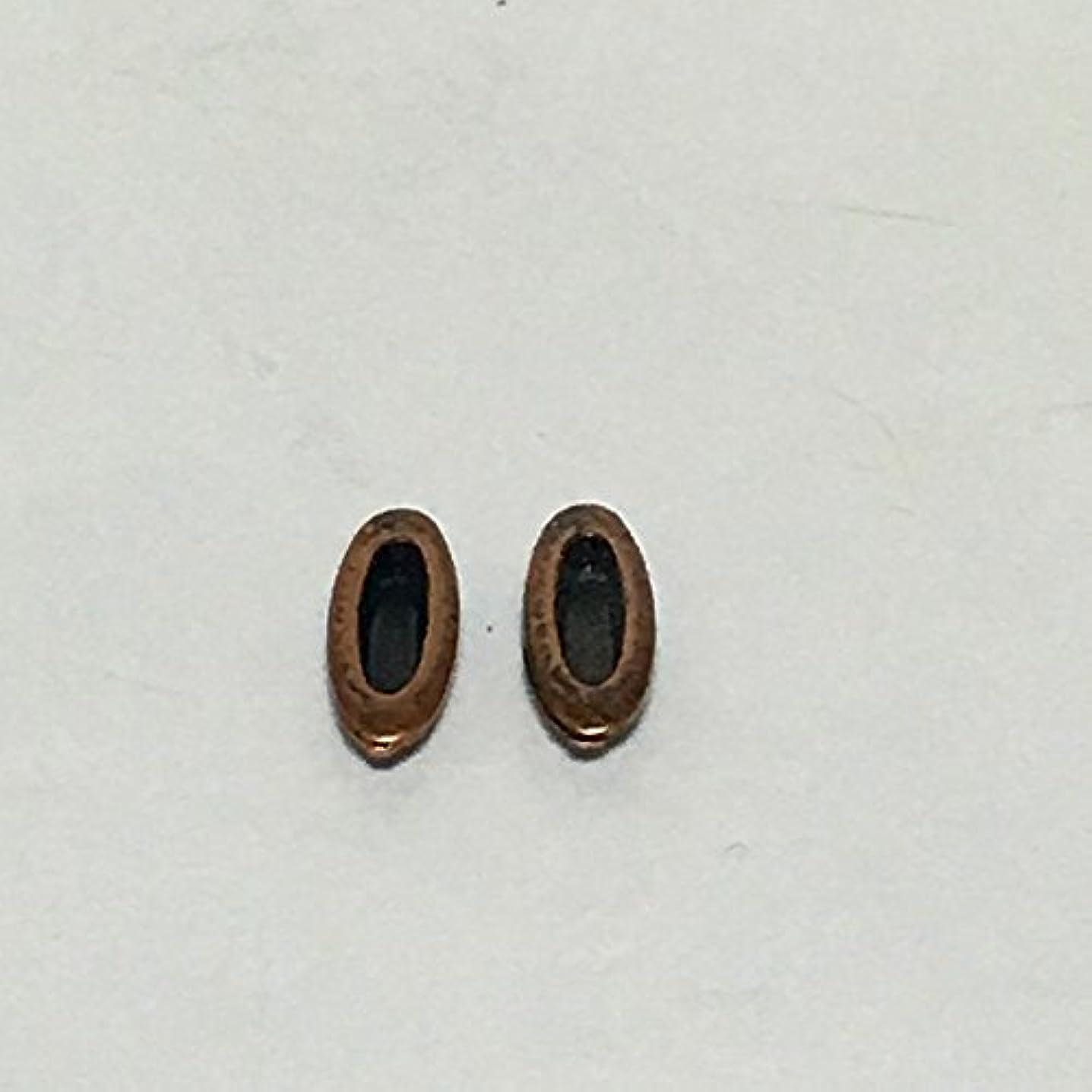 見る人北効能あるふすま用 引手 建具用 舟形引手 (和家具?建具用金具) 6-1485